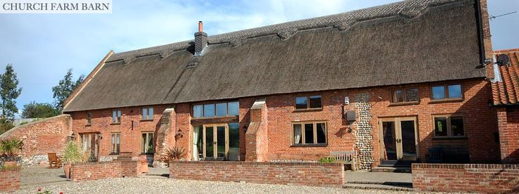 Church Farm Barn - Luxury Holiday Bed and Breakfast Barn Conversion in North Norfolk