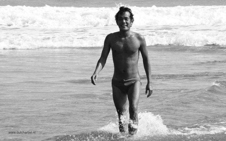"Indonesian young man . "" Jungle boy ""  Printsize A4 - A5 photo paper. 1 photo 100 euro - 4 foto's 200 euro. emilesvv@hotmail.com"