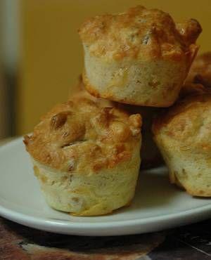 muffin al tonno e pistacchi