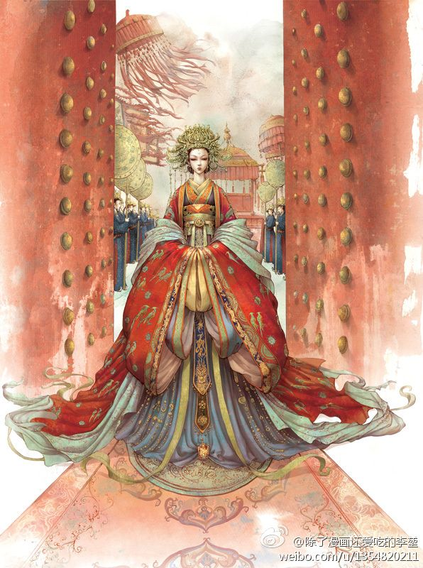 Great Chinese queen