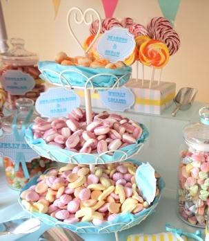 Candy Cart Display cupcake display