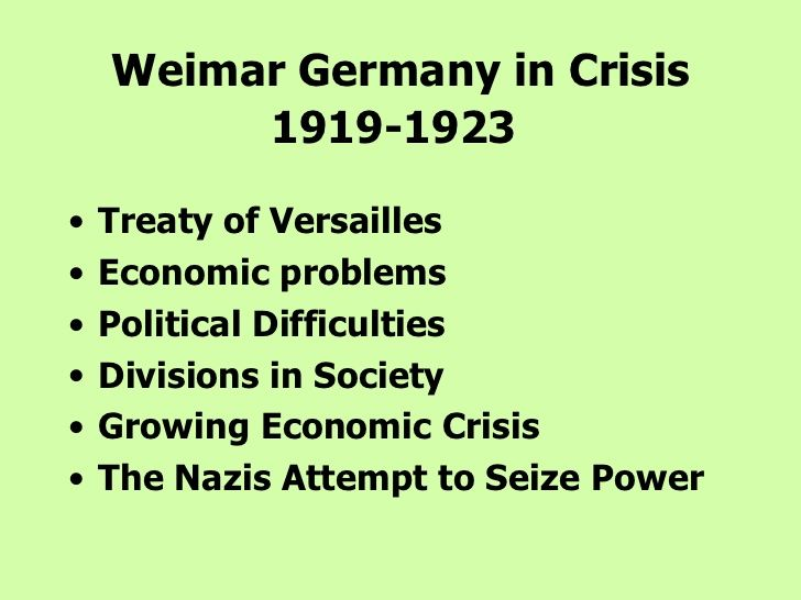 A fascinating part of German history.