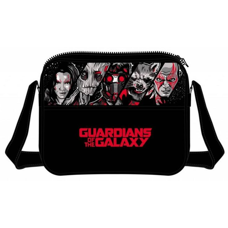 Guardians Of The Galaxy - Heroes Messenger Bag