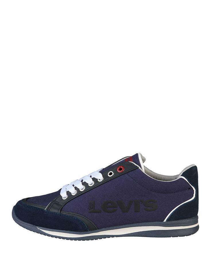 Levi's scarpe - sneakers uomo - tomaia: pelle, tessuto e materiale sintetico - interno: tessuto - suola: gomma - Sneaker uomo Blu