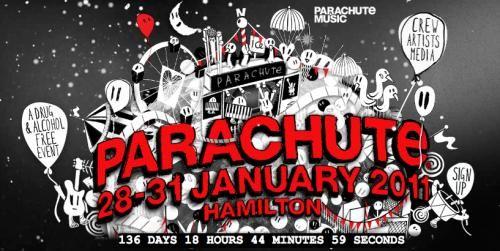 Parachute Music Festival Logo 2011. parachutemusic.com