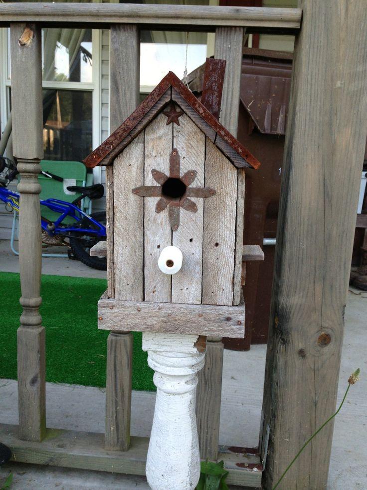 22 Best Images About Primitive Bird Houses Bird Baths On