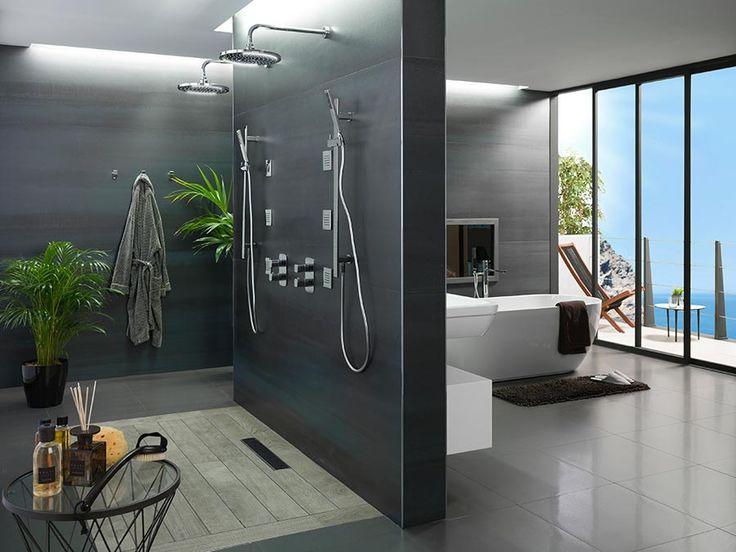 Baño y dormitorio. Estancias fusionadas en un mismo ...