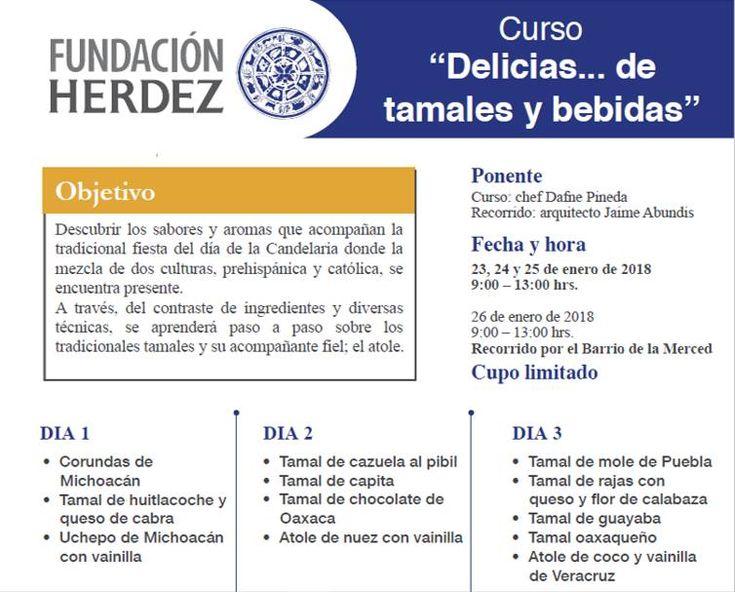 Curso de tamales y bebidas #CDMX #curso #cocinamexicana