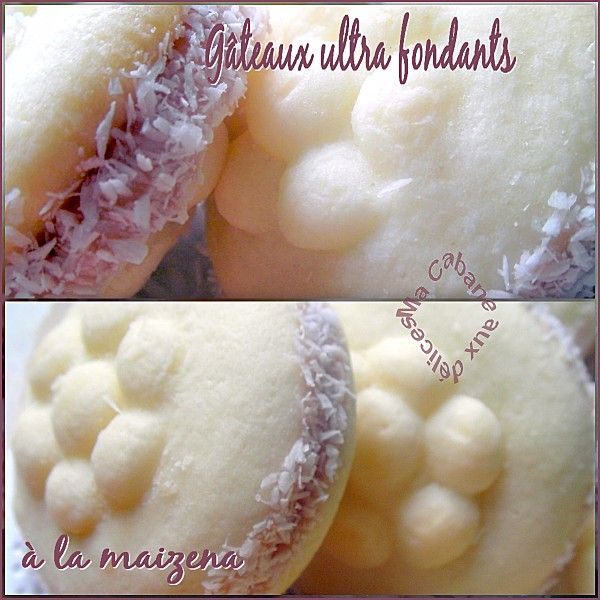 Gâteaux ultra fondant maizena montage 1