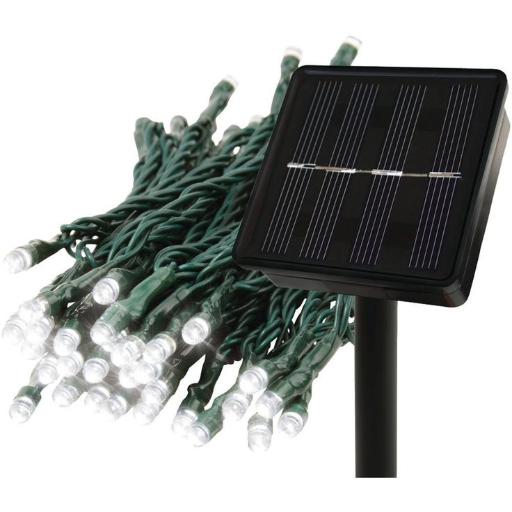 EcoThink 155024 Solar String Lights. Flash, twinkle & constant light modes;  Illuminates trees, shrubs & more;  Long-lasting LED bulb technology;  Solar powered: recharges with sunlight;  150 lights on 80ft strand;EcoThink 155024 Solar String LightsCondition : This item is brand new, unopened and sealed in its original factory box.