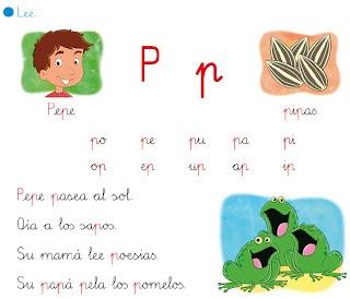 "http://primerodecarlos.blogspot.com.es/2012/10/lectura-interactiva-de-la-letra-p.html  EL BLOG DE PRIMERO: LECTURA INTERACTIVA DE LA LETRA ""P"""