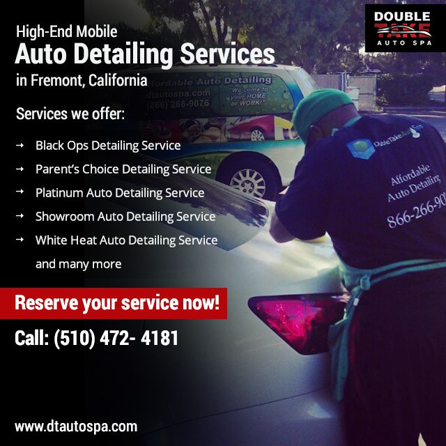 Double Take Auto Spa offers a full menu of professional auto detailing services to bring both the interior and exterior of your vehicle back to life. For any queries, give us a call @ 510-472-4181. #fremont #unioncity #newark #instaauto #cars #motors #spotless #handwash #autodetail #auto #detailing #smallbusiness #entrepreneur #swag #instadaily #carwash #Service #Car #Autodetailing