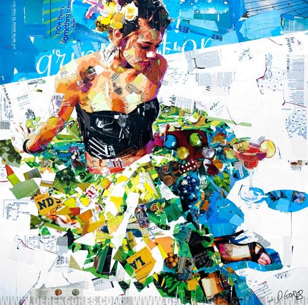 derek gores: Long Art, Wall Art, Derek Gore, Art Inspiration, Summer Long, Collage Artists, Art Prints, Art Collage, Artists Derek