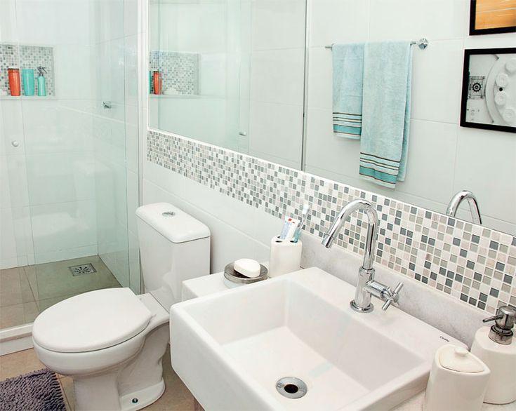 Dicas para a decoração de banheiros pequenos. Confira aqui 5 dicas que vai tornar o seu banheiro moderno. CLIQUE AQUI.