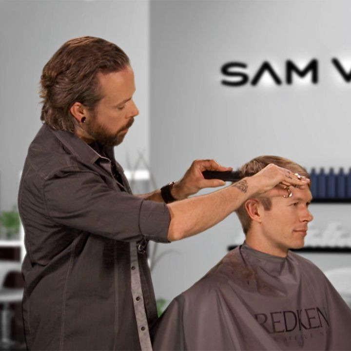 Looking to further master your scissor-over-comb technique? Andrew Carruthers guides us through his approach to this essential know-how to up your game in men's short haircutting -- old school style combined with a fresh avenue to success!