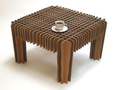 muebles de carton