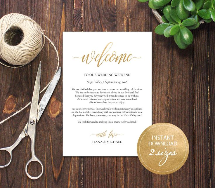 Editable PDF Wedding Itinerary Card Welcome Bag Note Calligraphic Welcome Letter Template Instant download card DIY Printable Gold #DP130_40 by DreamPrintable on Etsy #wedding #instant #download #printable #image #graphic #digital #reception_sign #PDF #Template #wedding_ceremony #wedding_sign #Calligraphy #Sign #events #events_design #wedding_printable #wedding_design