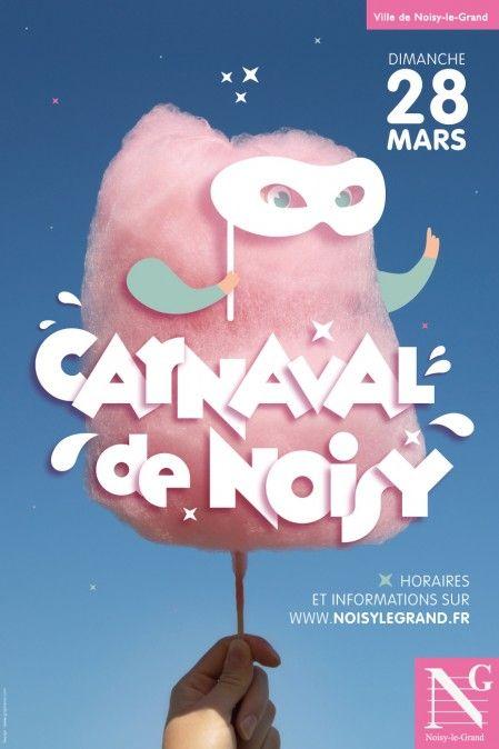 Carnaval de Noisy by Graphéine - #poster #design