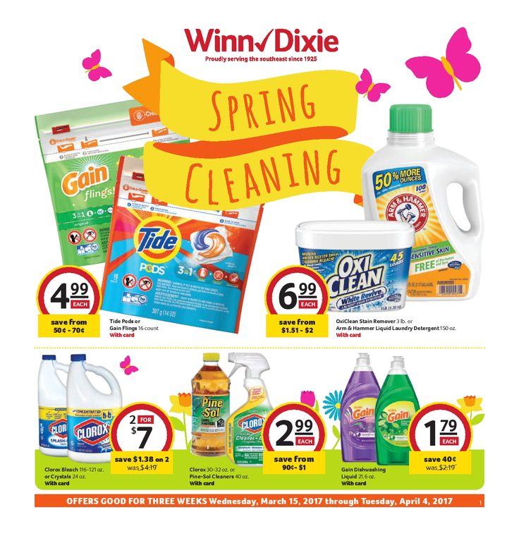 Winn Dixie In-Store Flyer March 15 - April 4, 2017 - http://www.olcatalog.com/grocery/winn-dixie-in-store-flyer.html