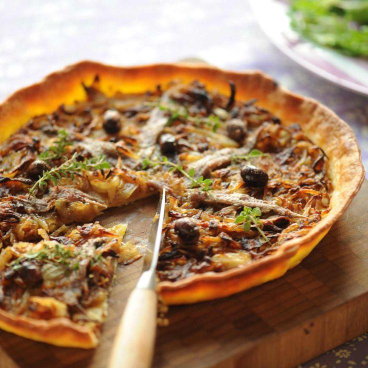 Découvrez la recette pissaladière sur cuisineactuelle.fr.