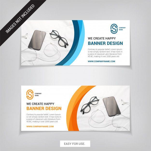 Business Web Banner Design Template Easy For Use Banner Template Design Web Banner Design Banner Design