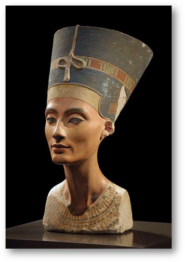Egyptian Queen Nefertiti - Neues Museum in Berlin