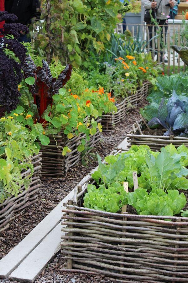FEED the Family: Raised bed vegetable garden | jardin potager | bauerngarten | köksträdgård