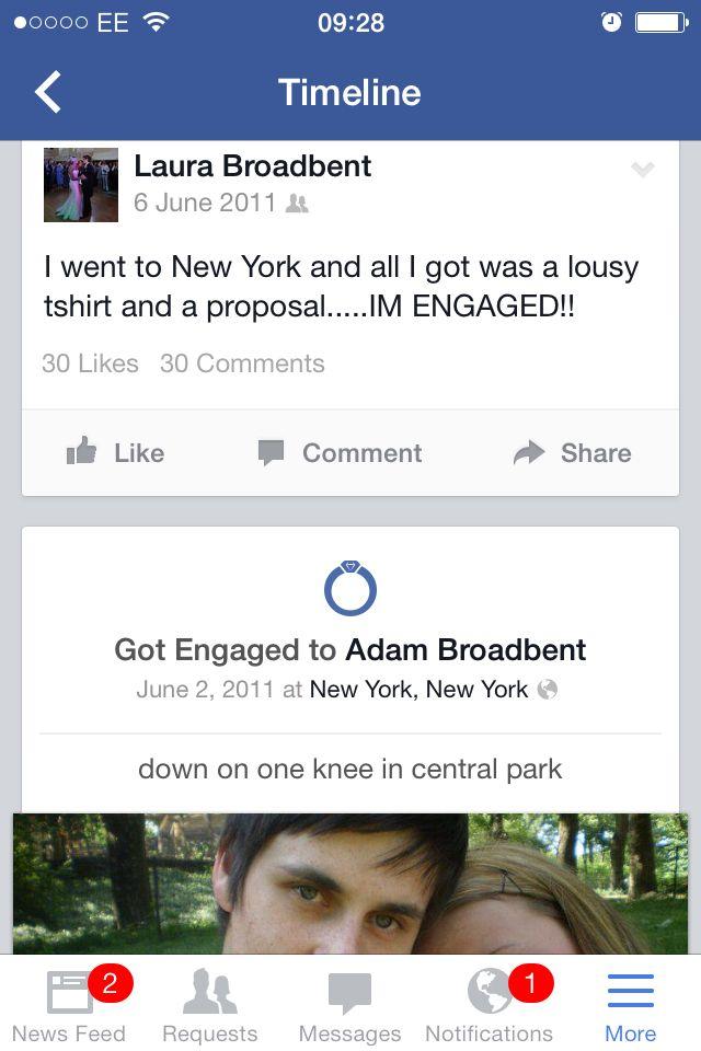 Our Facebook engagement announcement x