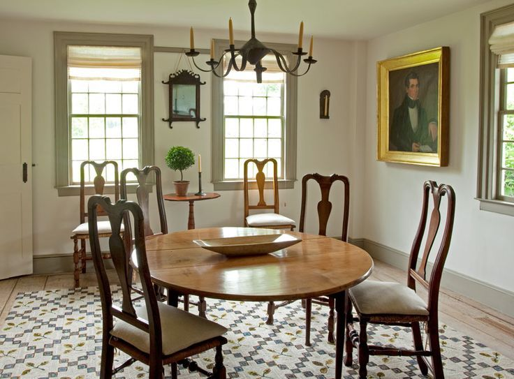 Colonial Dining Room Furniture: 199 Best Images About Colonial Dining Rooms On Pinterest