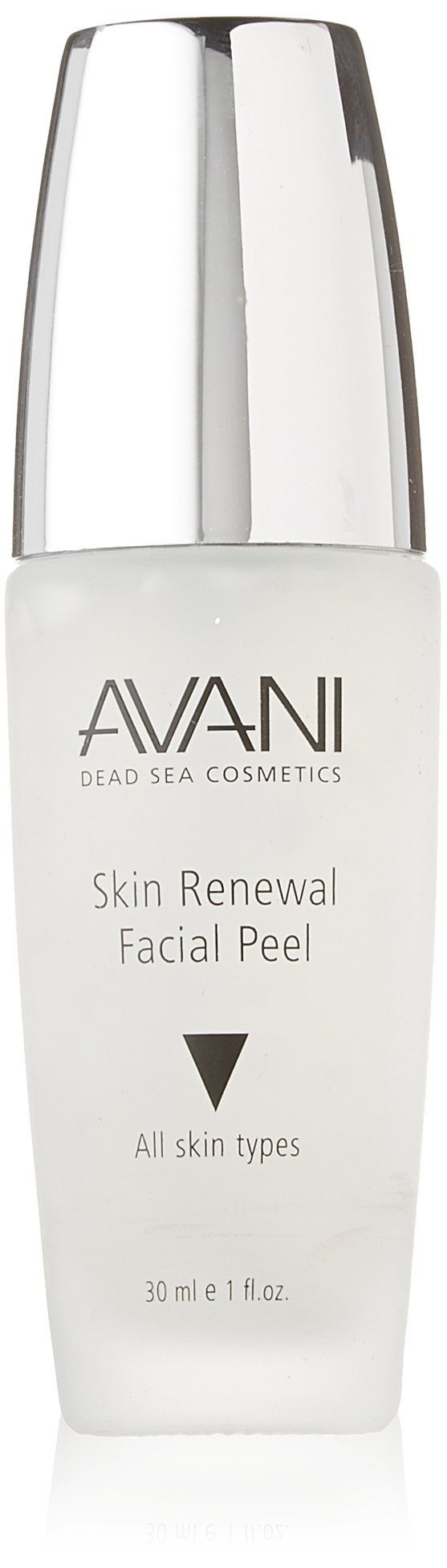 AVANI Skin Renewal Facial Peel, 1 fl. oz. Skin Renewal Facial Peel Enriched with beneficial vitamins E & C, this Skin Renewal Facial Peel thoroughly cleanses the skin, ridding it of dead skin cells, excess oil and other impurities. Infused with nourishing Dead Sea Minerals, this non-abrasive Facial Peel will leave your skin feeling radiant and revitalized. Size: 30 ml e 1 fl.oz.