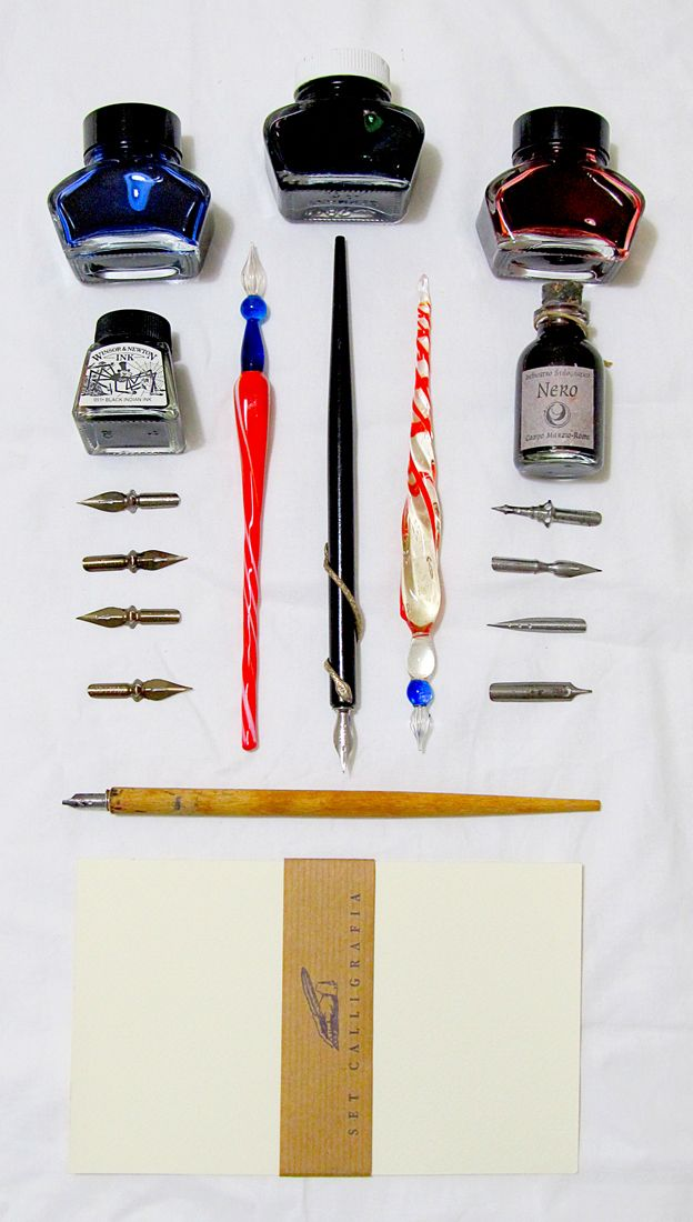 Cool pens, amazing organization.