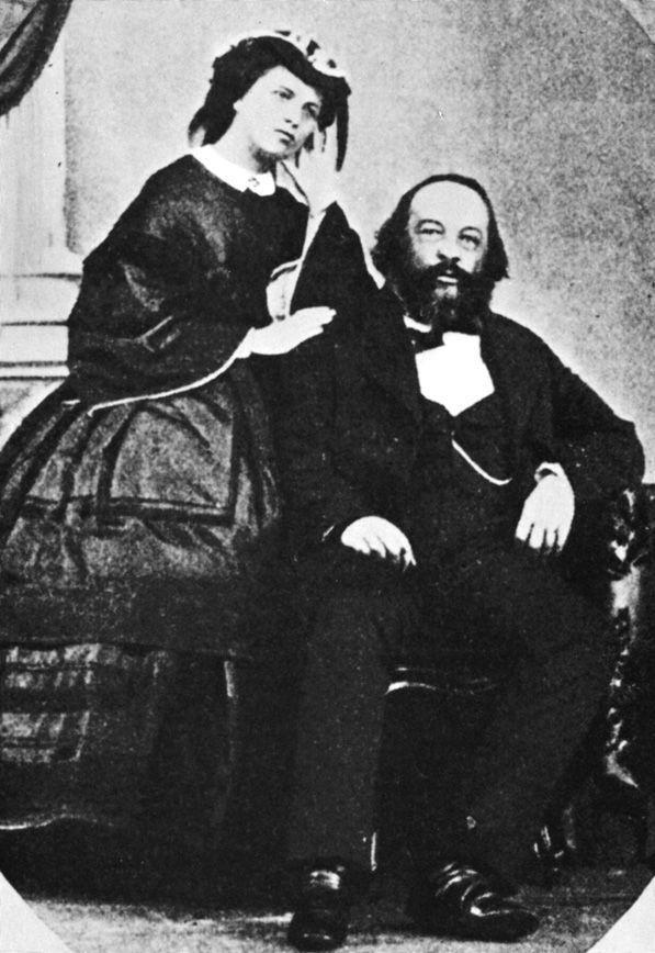 Mikhail Bakunin and Antonia Kwiatkowska, circa 1861- Wikipedia, the free encyclopedia