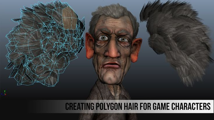 http://cgcookie.com/unity/2013/04/29/modeling-and-texturing-polygon-hair-for-game-characters/ Learn how to create polygon hair for game characters In this vi...