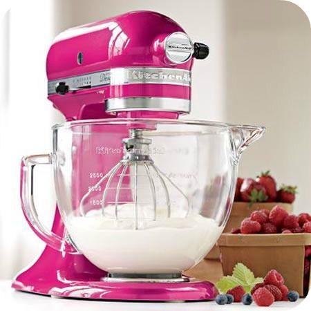 Raspberry Ice KitchenAid Stand Mixer Giveaway! | Sweetopia