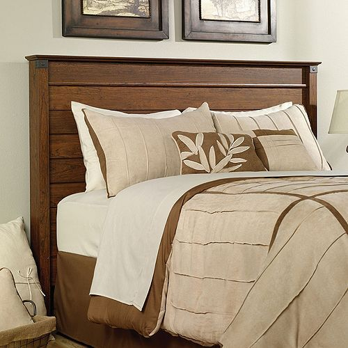 Sauder Carson Forge Collection Full Queen Headboard. 32 best Beds images on Pinterest   Master bedrooms  Headboards