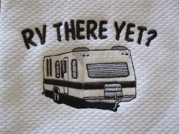 RV there yet??