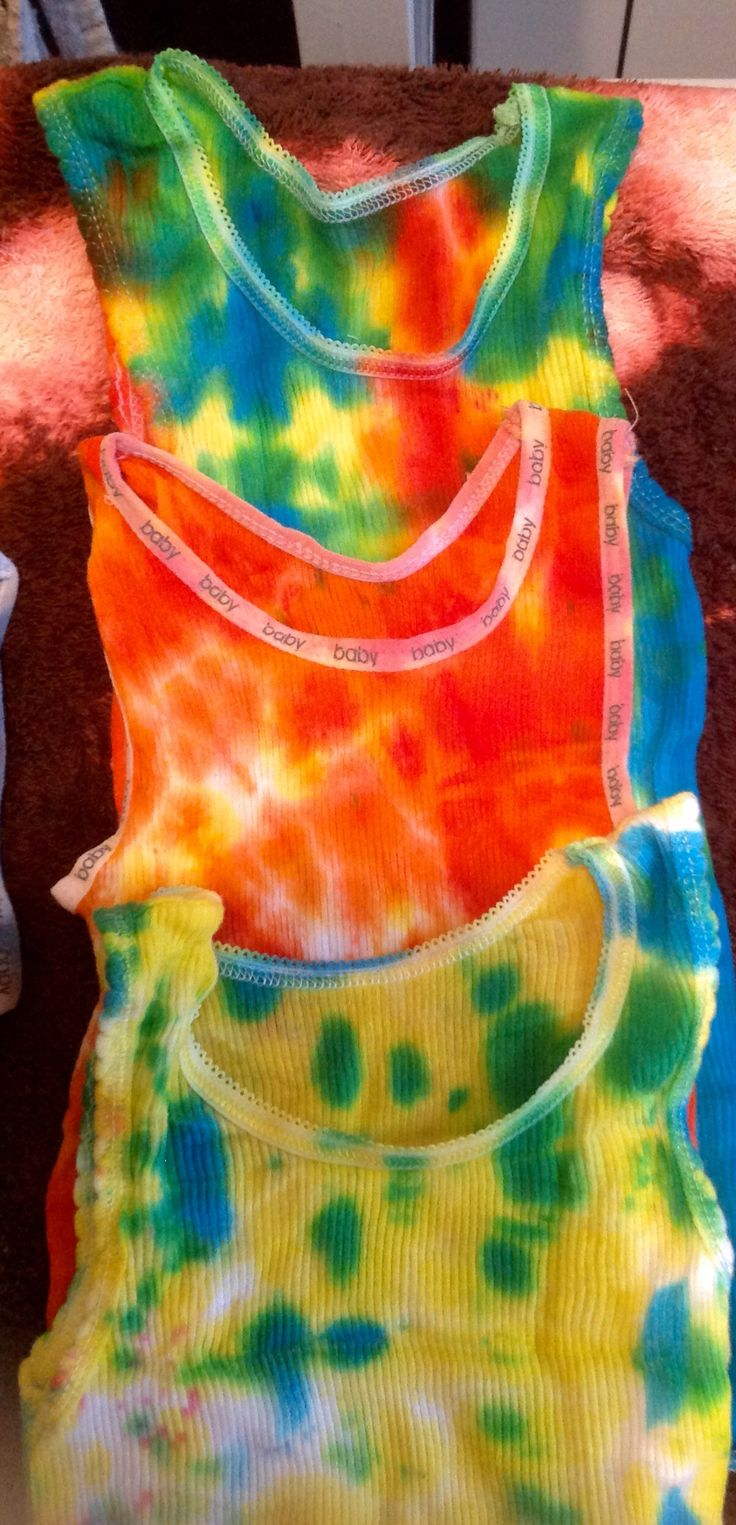 Handmade Babies Tie Dye Tops from $5 by EBT Gifts size 00 to 0