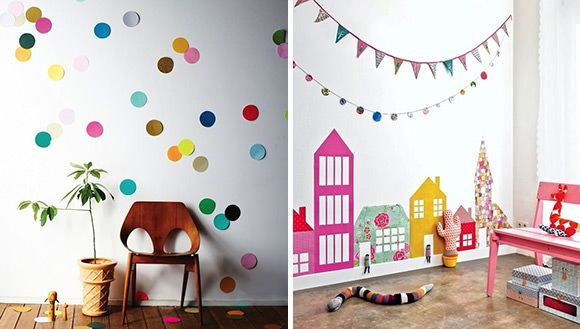DIY Wallpaper Ideas for Kids Rooms