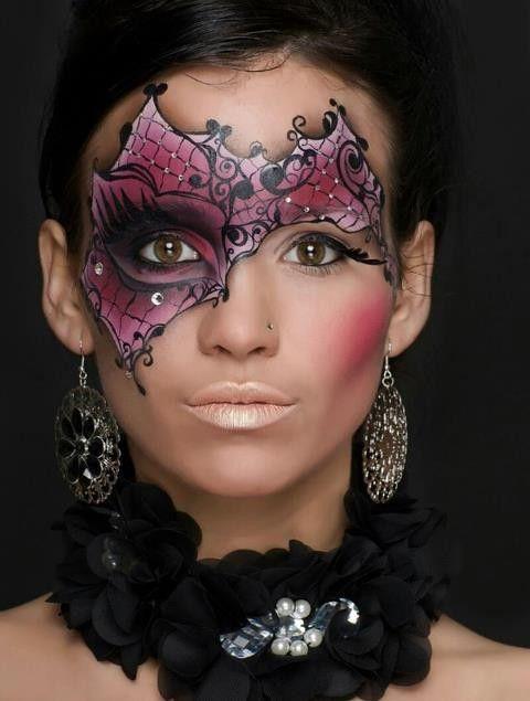 Maquillage Artistique, Maquillage Époustouflant, Maquillage Marquise, Maquillage Incroyable, Maquillage Voltige, Maquillage Carnaval Femme, Maquillage