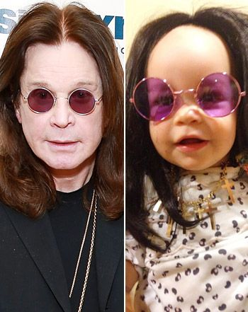 pearl osbourne ozzy | Jack Osbourne Daughter Pearl Dressed Like Ozzy Osbourne: Picture - Us ...