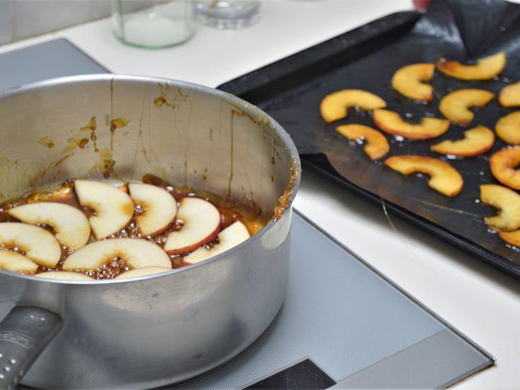 caramelized apple rice pudding