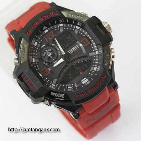 jam tangan g shock GA1000 warna merah