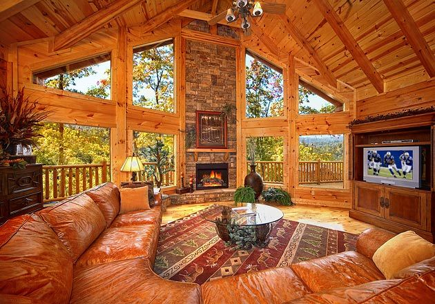 Great Room ~ Elk Springs Resort in Gatlinburg, TN