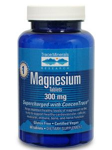 Trace Minerals Research- Magnesium Tablets 60 tabs