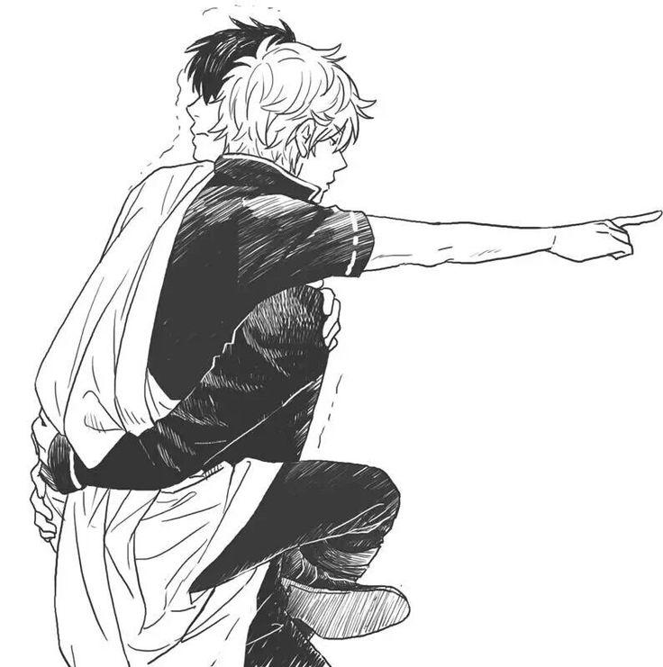 Tags: Gintama, Hijikata Toshiro, Sakata Gintoki