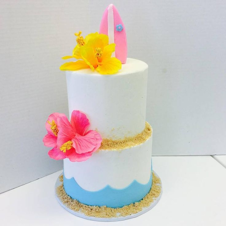 Edible Beach Themed Cake Decorations: 17 Best Images About Birthday Cakes On Pinterest