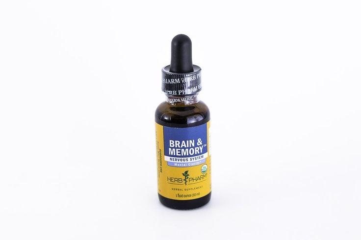 Herb Pharm -Brain & Memory Herbal Extract Formula - 1 oz Tincture