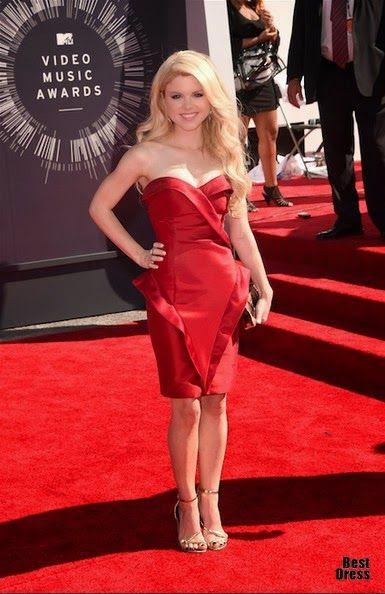 Atractivos vestidos de famosas para fiesta : Moda en vestidos de gala 2015