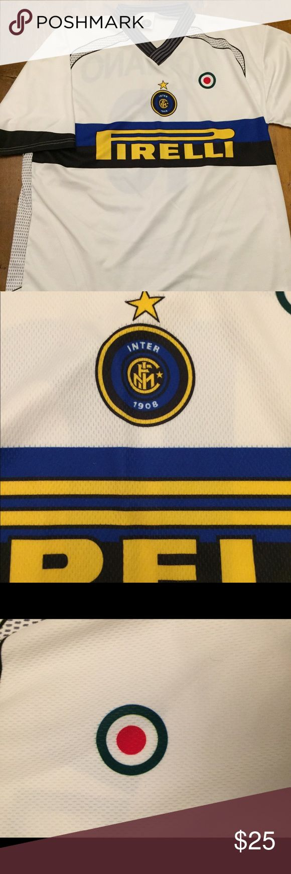 InterMilan Adriano jersey soccer team Excellent condition Shirts Tees - Short Sleeve