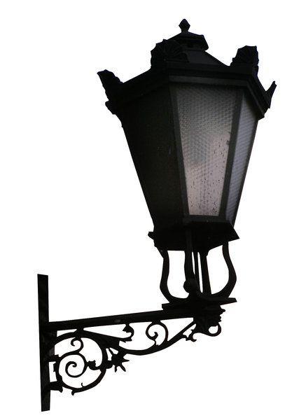 Lamp: Old lamp (Ladek Zdroj, Poland).